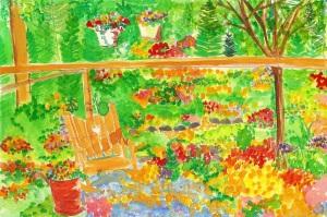 garden rocker