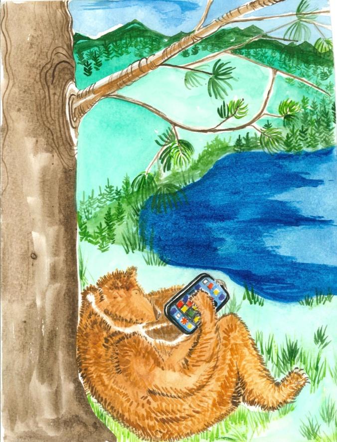 Berry pickin bears