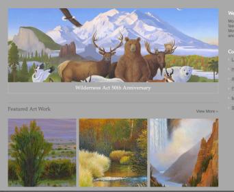 Monte Dolack Website Wilderness Act 50th Anniversary
