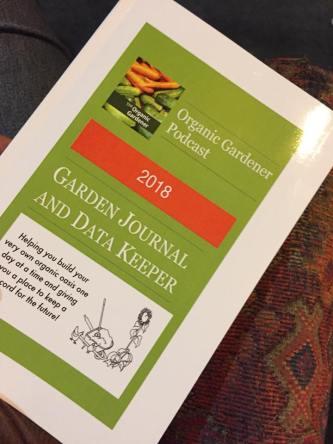 2018 Garden Journal and Data Keeper