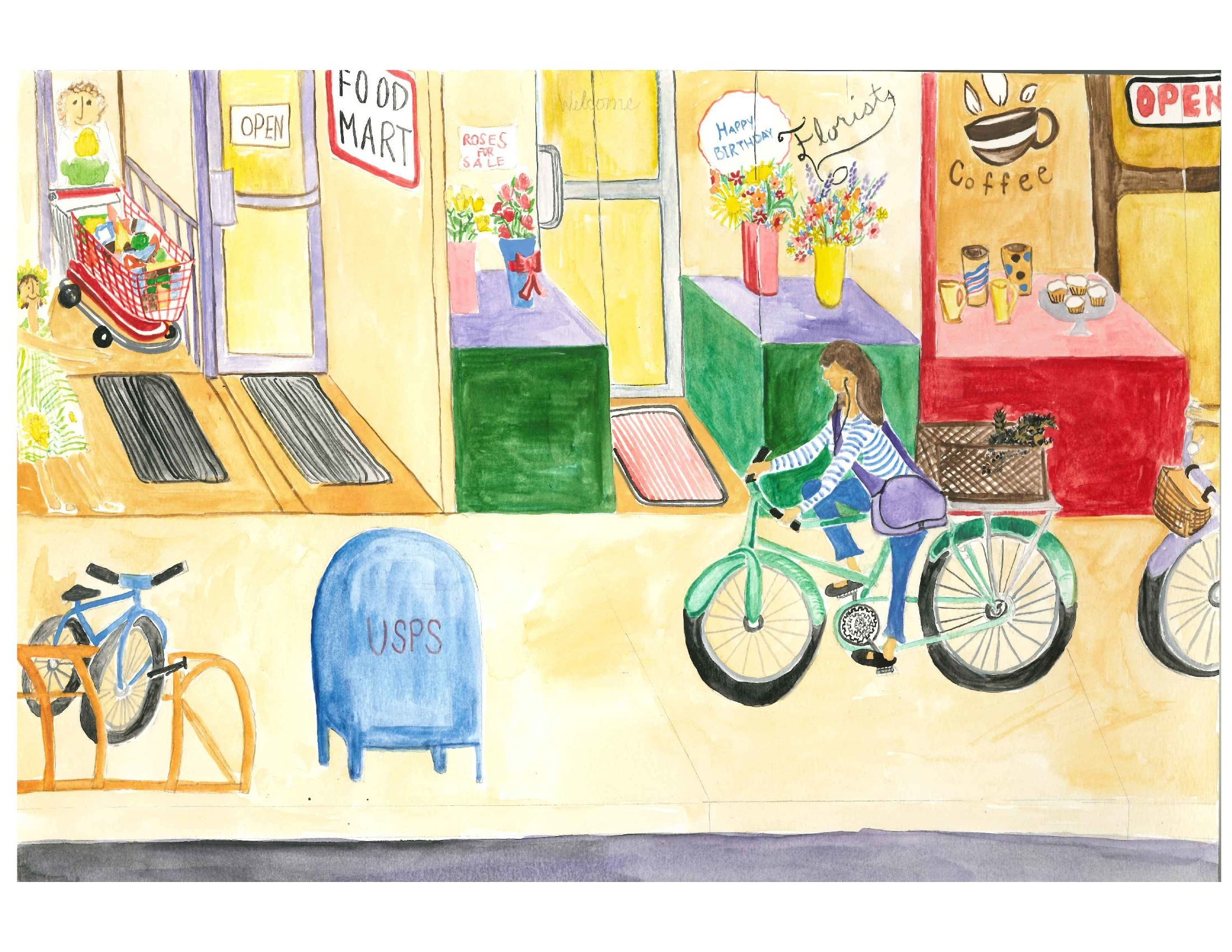 Green Queen bicycle